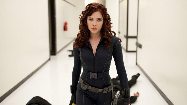 Widow in Iron Man 2