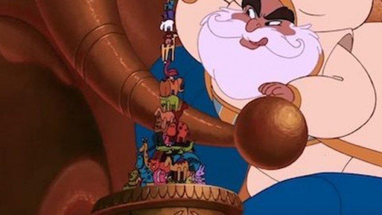 The Beast in Aladdin