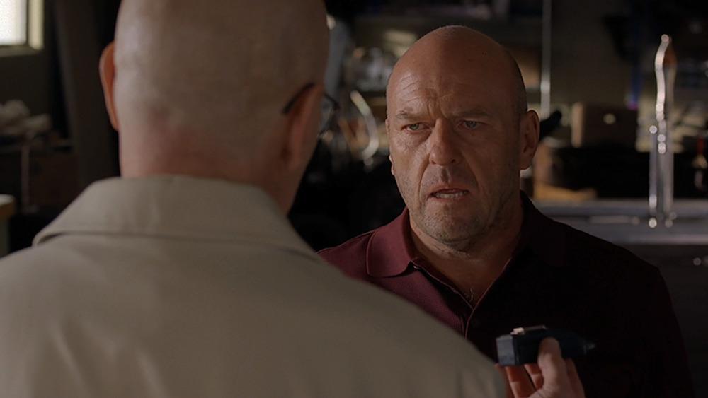 Dean Norris as Hank Schrader on Breaking Bad