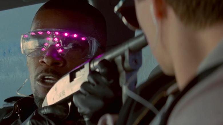 Jamie Foxx in Baby Driver