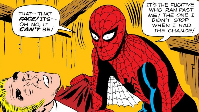 Spider-Man realizes who killed Uncle Ben