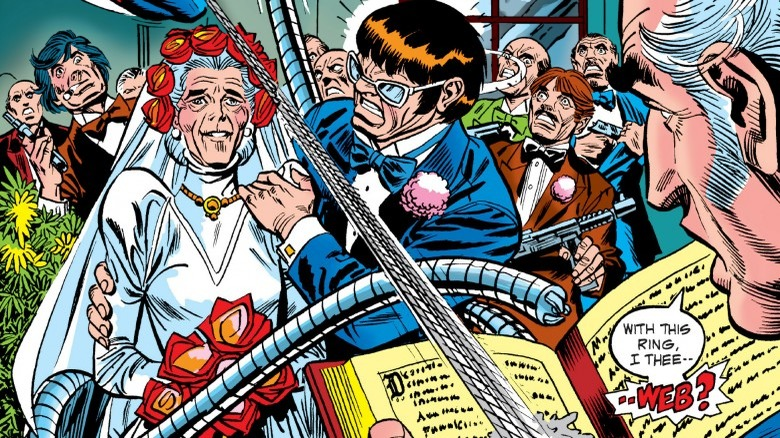 Aunt May marries Doc Ock
