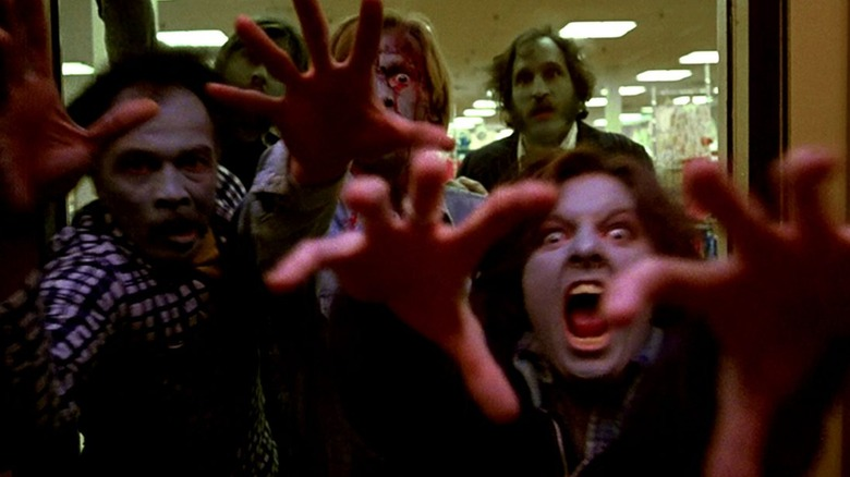 Zombies in Dawn of the Dead.