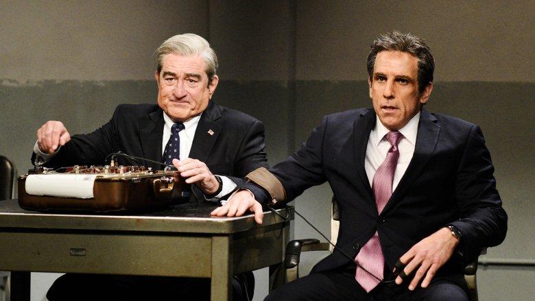 Ben Stiller and Robert De Niro on SNL