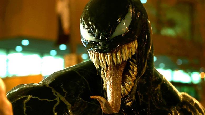 Tom Hardy as Venom in Venom
