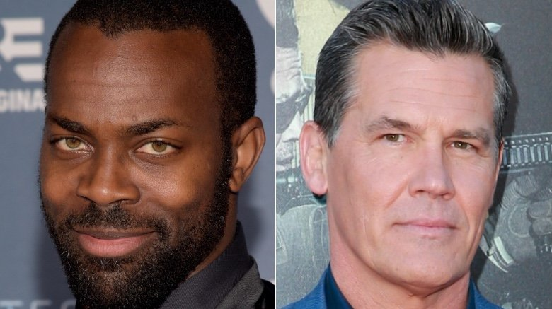 Split image of Damion Poitier and Josh Brolin