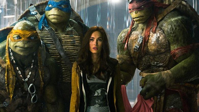 Megan Fox in Teenage Mutant Ninja Turtles