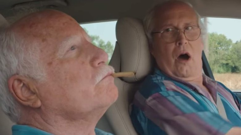 Richard Dreyfuss and Chevy Chase