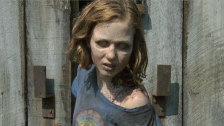 Madison Lintz as Sophia Peletier on The Walking Dead