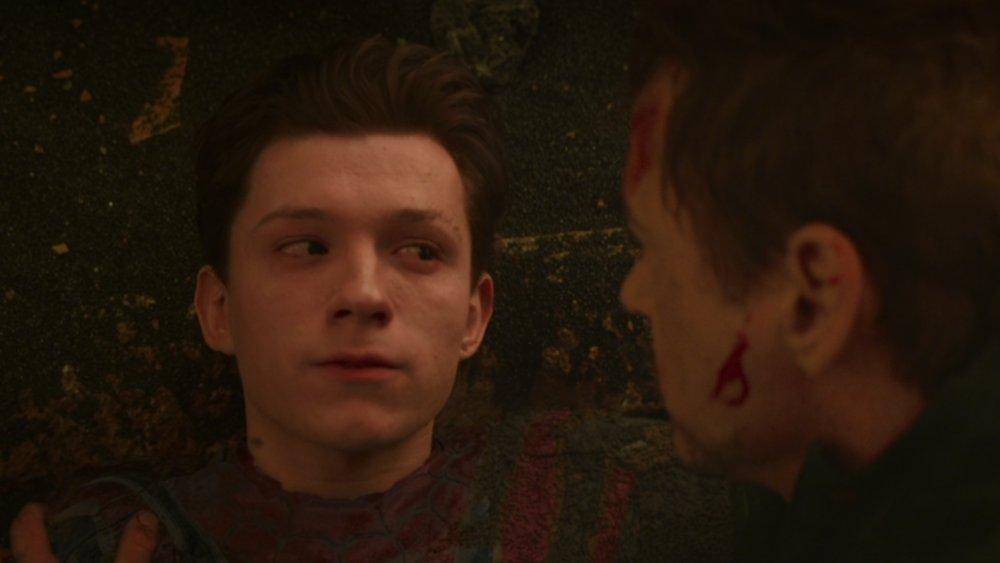 Tom Holland in Avengers: Infinity War