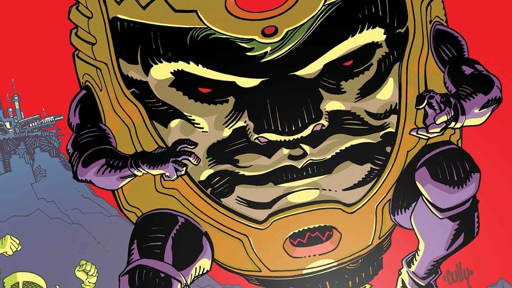 MODOK has an interesting history in the Marvel comics
