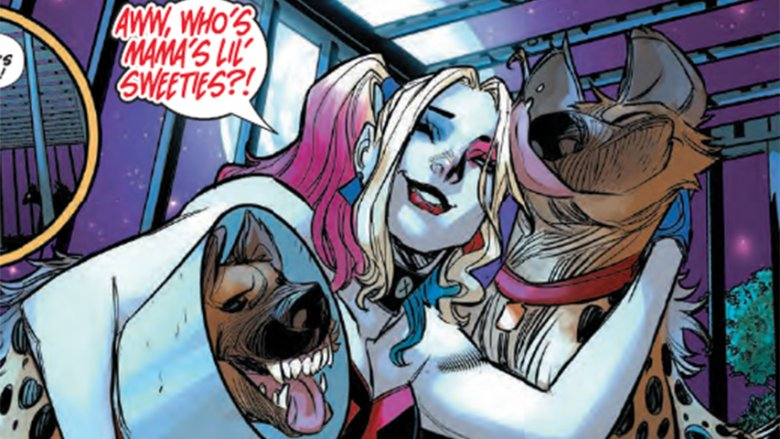 The Truth Behind Harley Quinn S Hyenas In Birds Of Prey