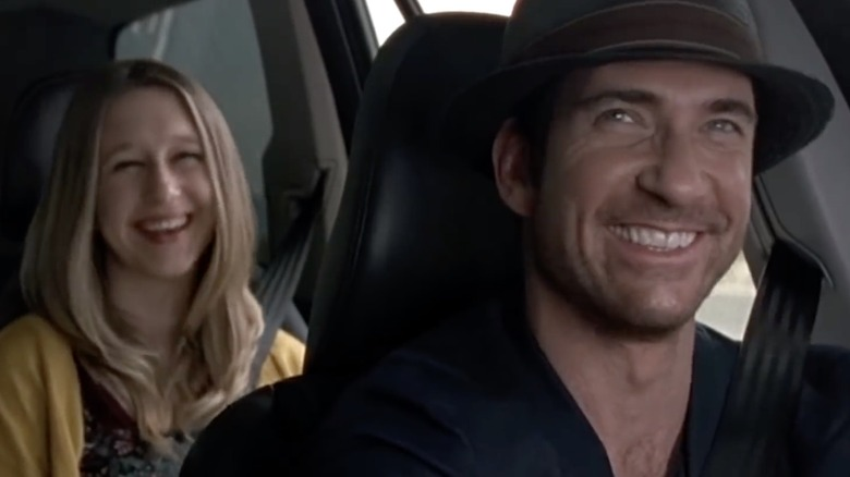 Taissa Farmiga and Dylan McDermott in American Horror Story