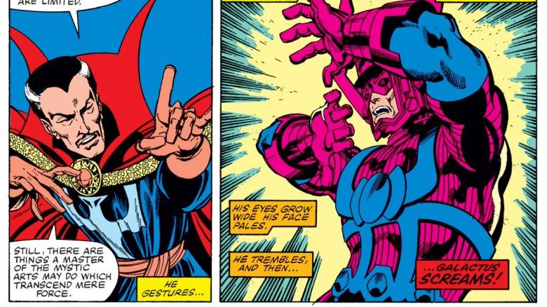 Doctor Strange and Galactus