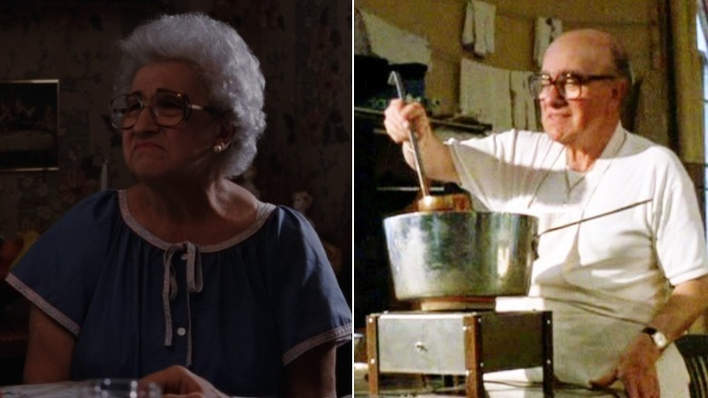 Martin Scorsese's parents in Goodfellas