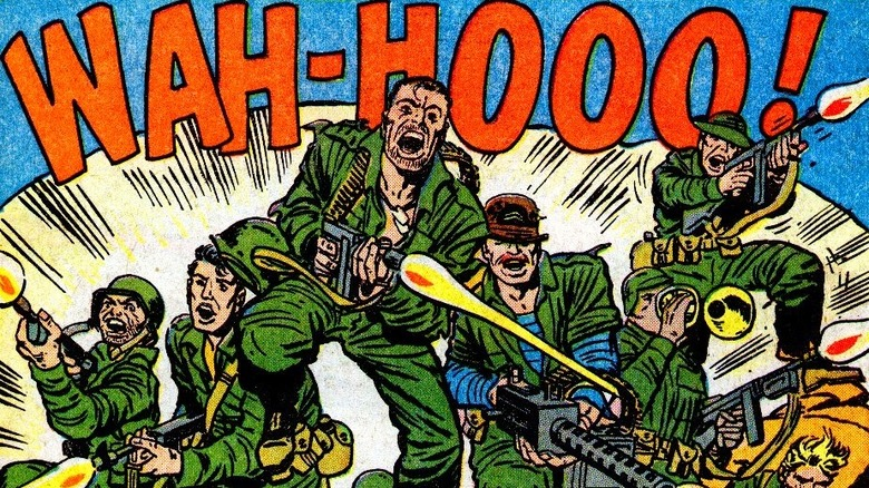 Sgt. Fury and his Howling Commandos cover art