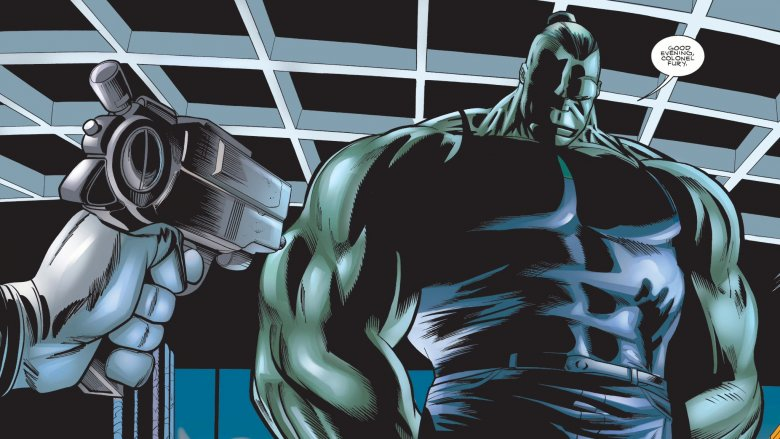 The Professor Hulk in 2000's Incredible Hulk #16