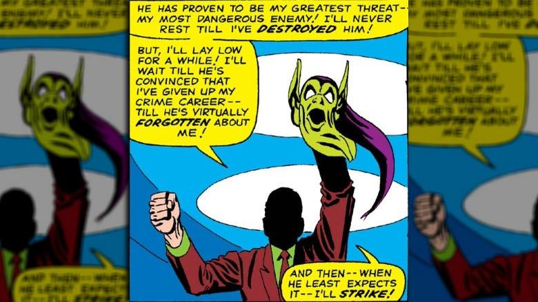 Green Goblin Steve Ditko Marvel Comics