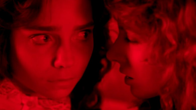 Jessica Harper and Stefania Casini in Suspiria