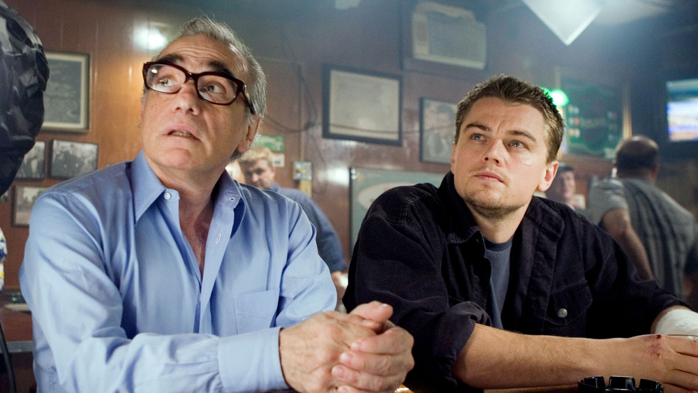 Scorsese and DiCaprio The Departed