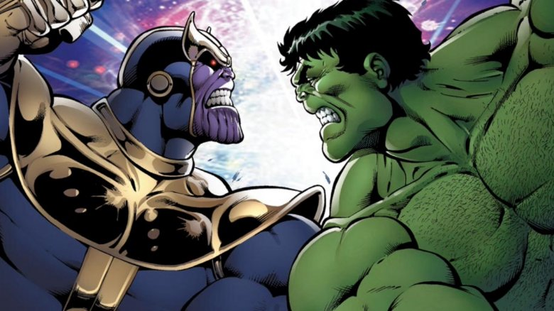 Thanos Vs. Hulk #1, Marvel Comics 2014