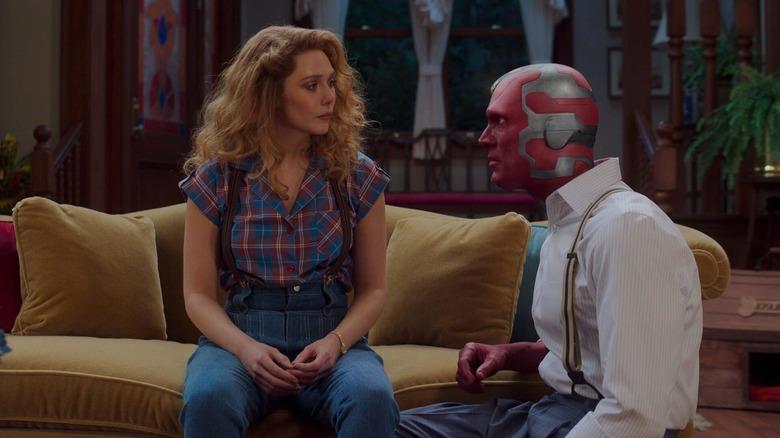 Wanda and Vision talking