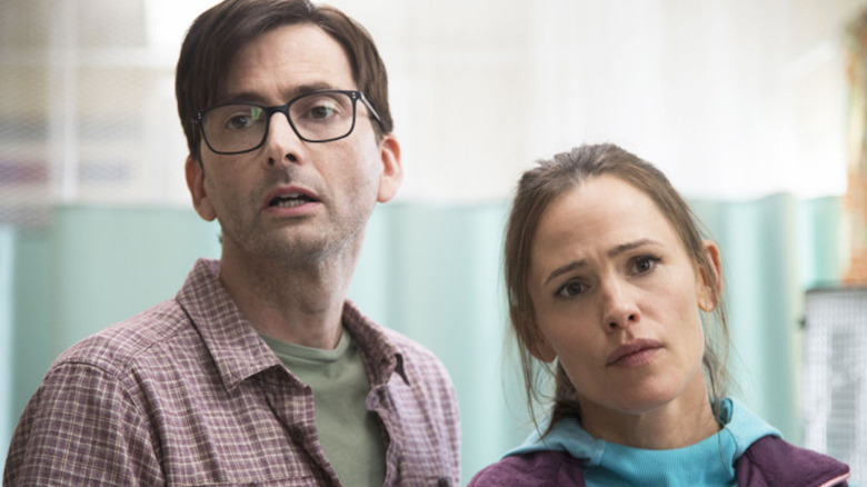 Jennifer Garner and David Tennant