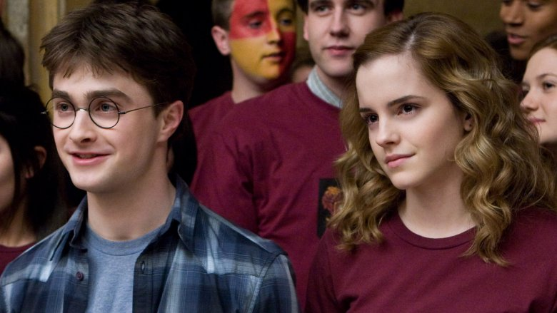 Scene from Harry Potter