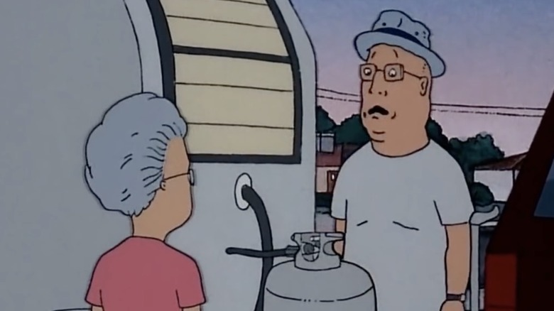 Marcy and Tom Anderson from Beavis and Butt-Head