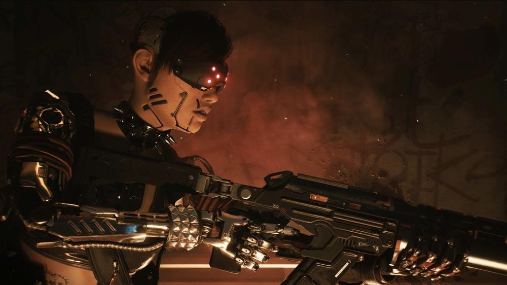Cyberpunk 2077 character