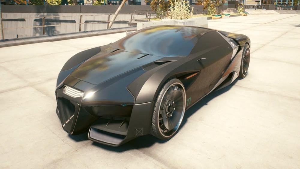 Car coming on green light in Cyberpunk 2077
