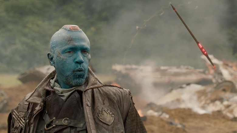 Yondu in the Guardians of the Galaxy with his arrow