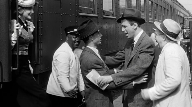 Harry, George, and Uncle Bailey in It's a Wonderful Life