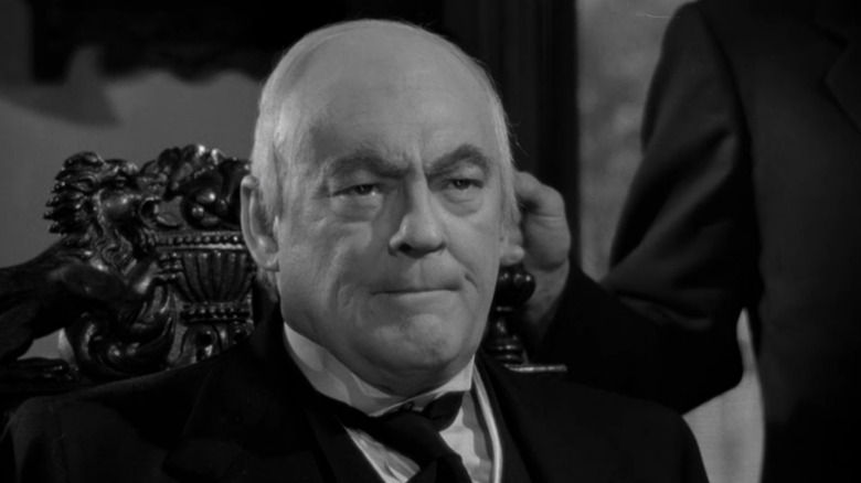 Lionel Barrymore as Mr. Potter in It's a Wonderful Life