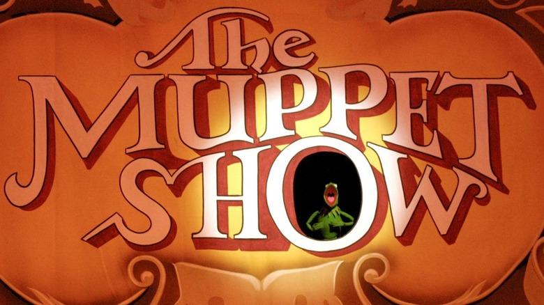 Kermit in the Muppet Show logo