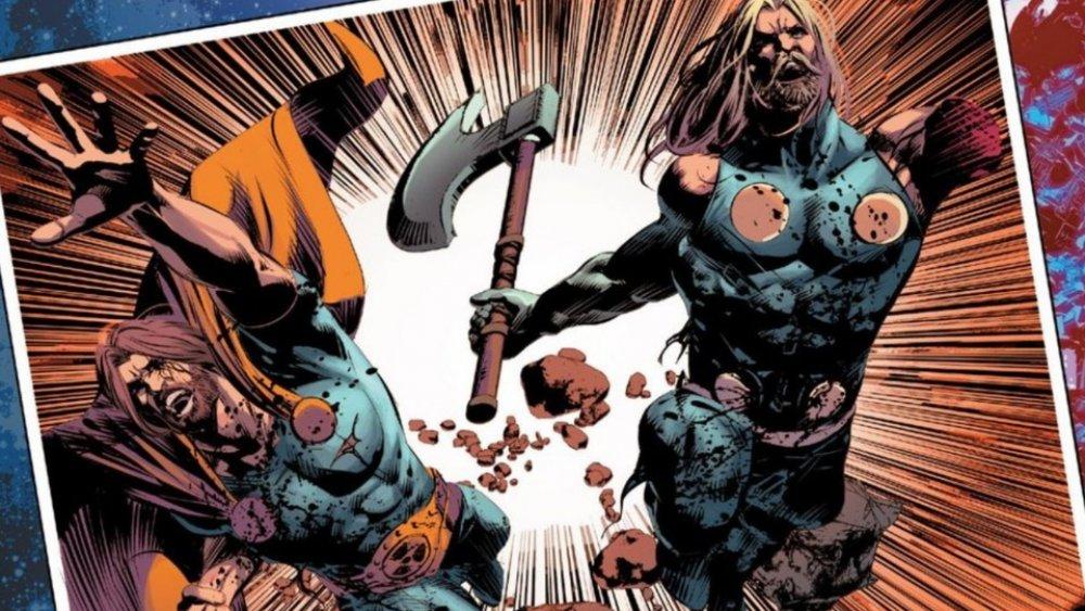 Hyperion e Thor enfrentam a morte como irmãos de armas