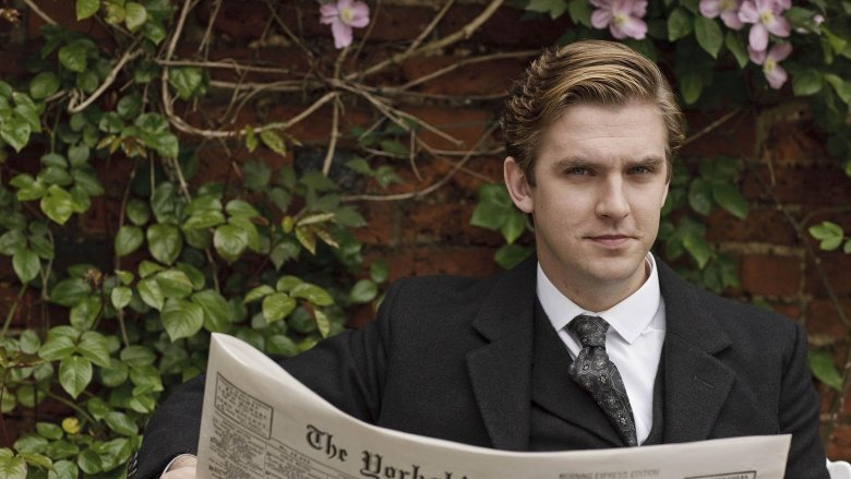 Dan Stevens as Matthew Crawley