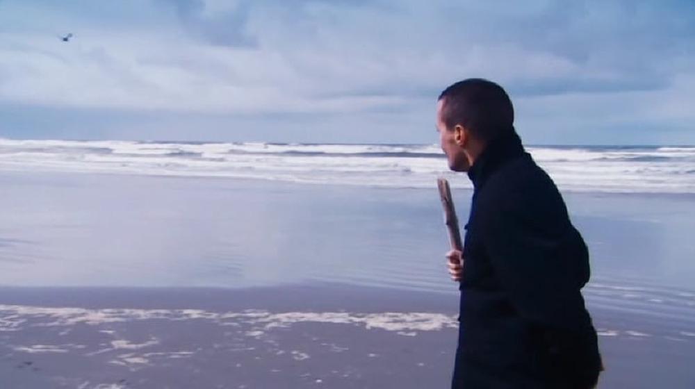 Cthulhu ocean shore