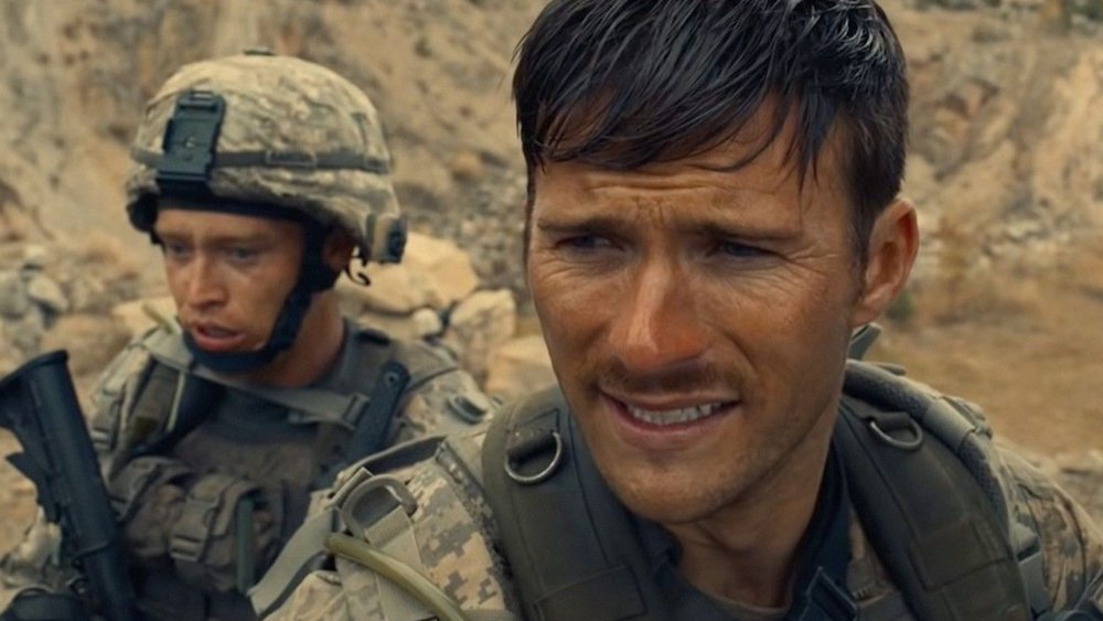 Scott Eastwood and Caleb Landry Jones in The Outpost