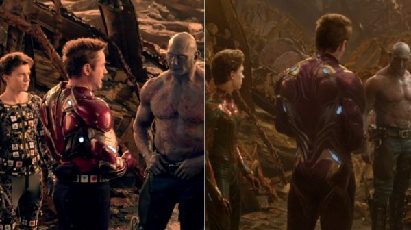 What Infinity War looks like without special effects
