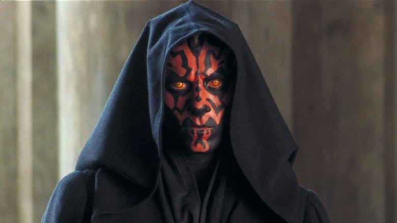 Ray Park as Darth Maul in Star Wars Episode I The Phantom Menace