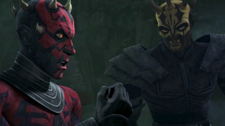 Darth Maul and brother, Savage Opress, from Star Wars
