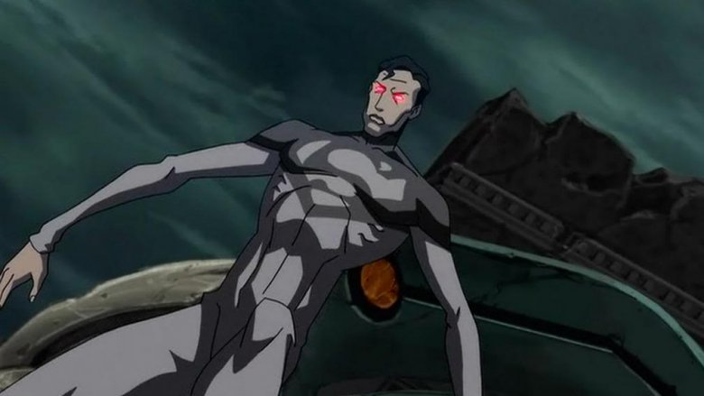 Superman as he appears in the Justice League: The Flashpoint Paradox animated movie