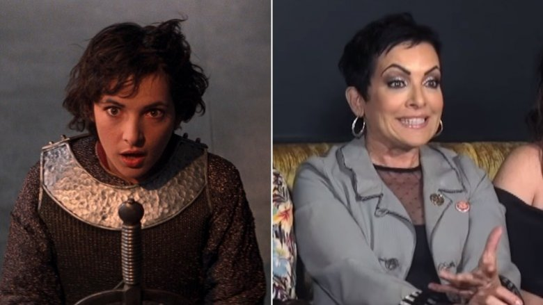 Jane Wiedlin as Joan of Arc