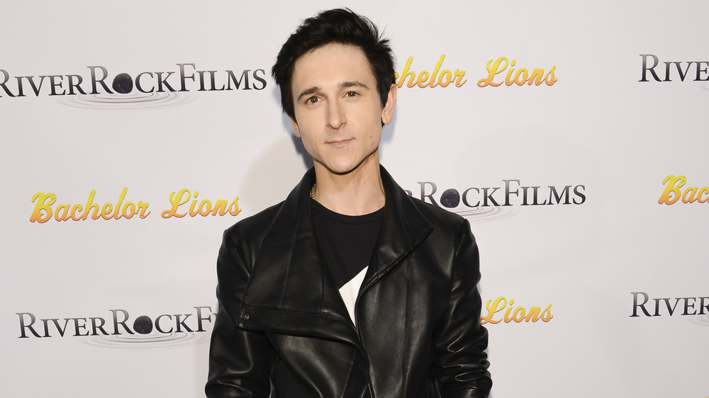 Mitchel Musso on red carpet