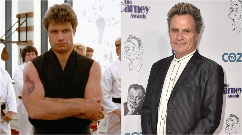 Martin Kove then and now