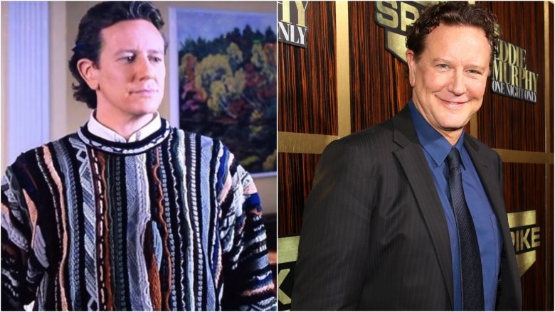 Judge Reinhold then and now