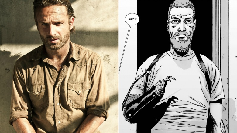 73743c5ae While English actor Andrew Lincoln's resemblance to Deputy Rick Grimes in  the source material is pretty on-point, even when sporting a beard, we  can't help ...