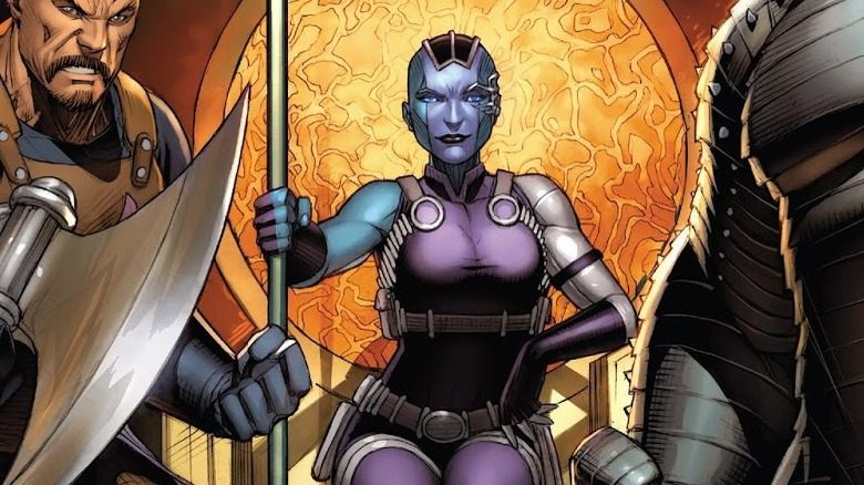 Nebula from the cover of Asgardians of the Galaxy #2