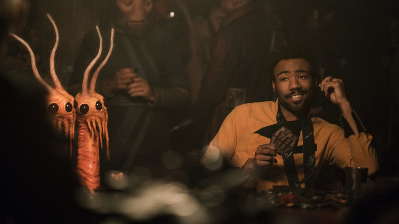 Lando in Solo: A Star Wars Story